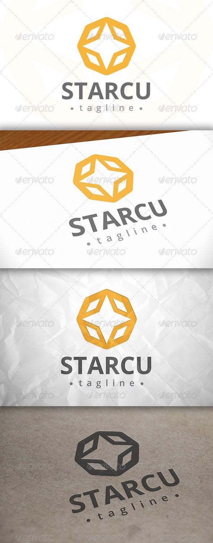 GraphicRiver Star Cube Logo 8083469