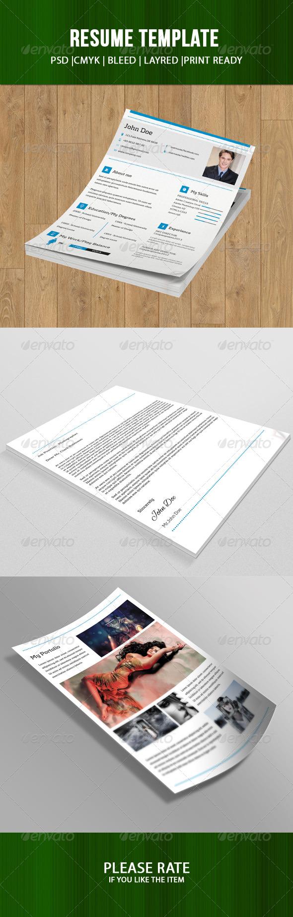 Resume Template-V04