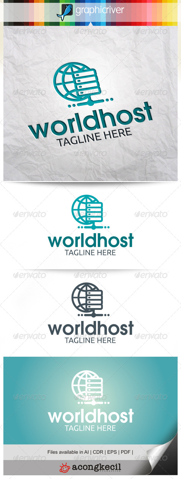 GraphicRiver World Host 8083644