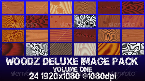WOODZ DELUXE IMAGE PACK VOLUME ONE - Wood Textures