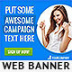 Corporate Web Banner Design Template 41 - GraphicRiver Item for Sale