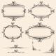 Four Elegant Vintage Frames