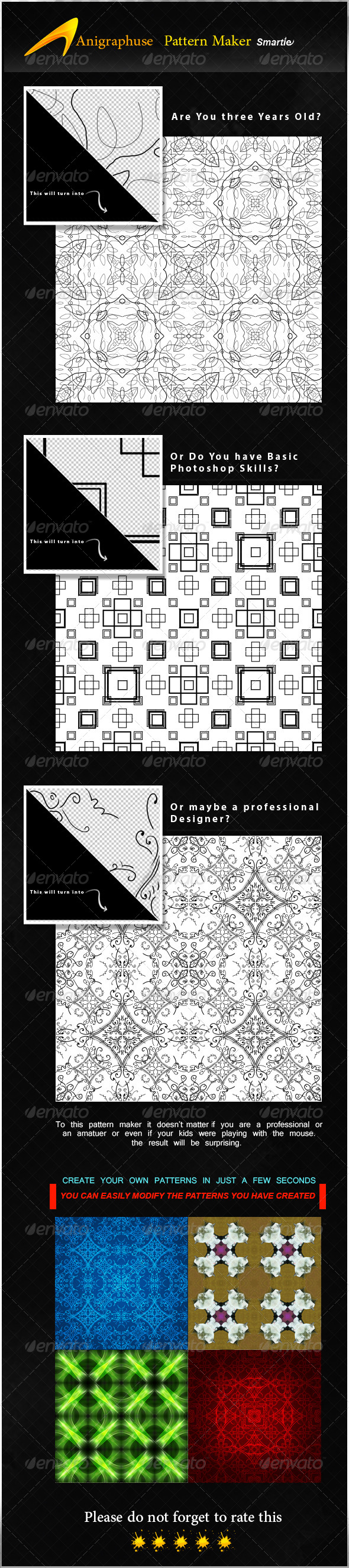GraphicRiver Smartie Seamless Pattern Maker 8084217