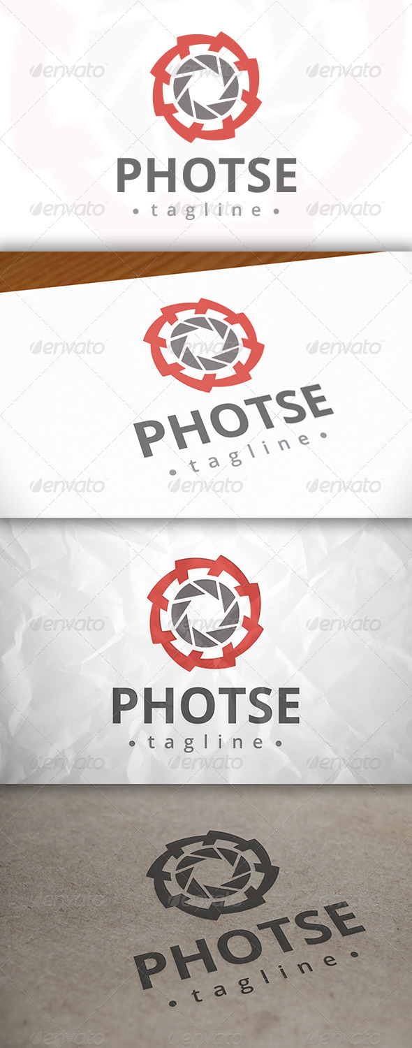 GraphicRiver Photo Service Logo 8084265