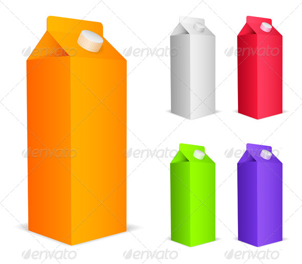 GraphicRiver Color Juice Packs 8084519