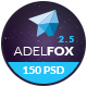 AdelFox | Multi-Purpose PSD Template - ThemeForest Item for Sale