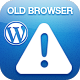 Warning Old Browser - Wordpress plugin