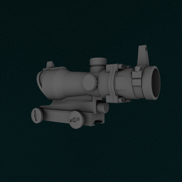 ACOG Scope - 3DOcean Item for Sale
