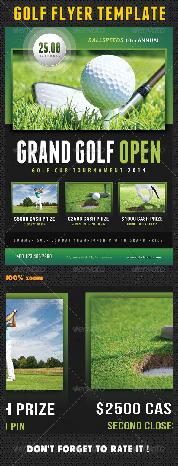 GraphicRiver Golf Flyer Template 02 8084773