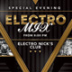 Special Evening Electro Mix Party In Club - GraphicRiver Item for Sale