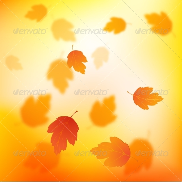 GraphicRiver Autumn Background 8084899