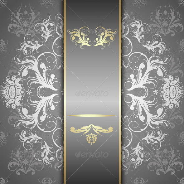 GraphicRiver Silver Pattern Background 8084907