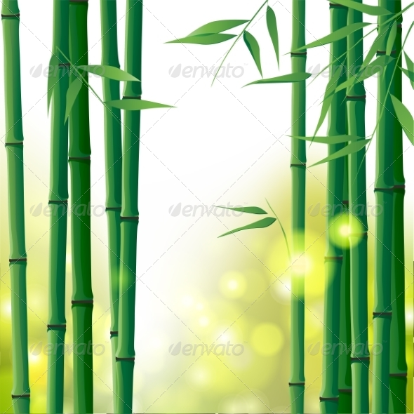 GraphicRiver Bamboo Background 8084906