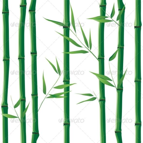 GraphicRiver Seamless Bamboo 8084910