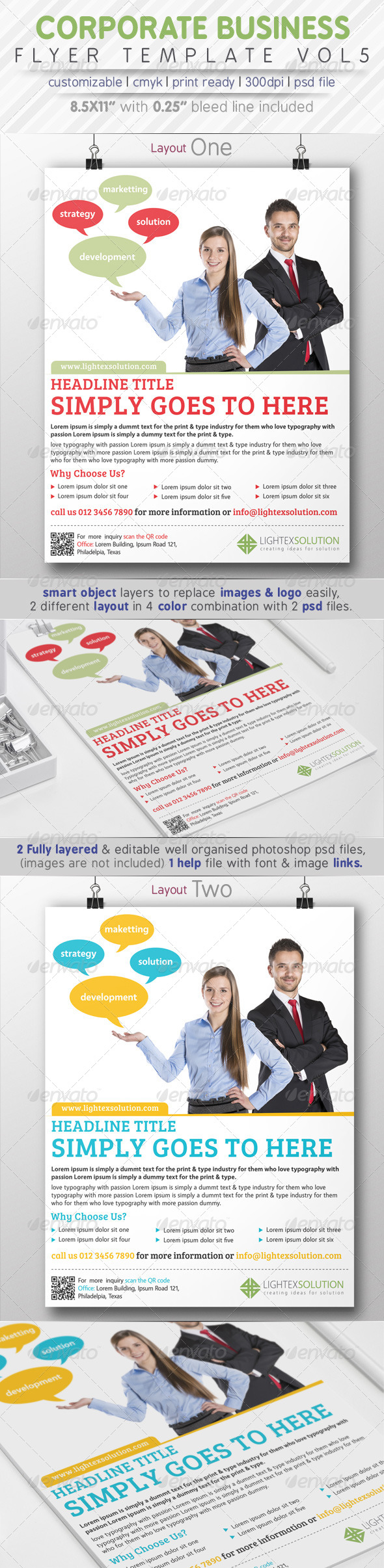 GraphicRiver Corporate Business Flyer Vol.5 8084989