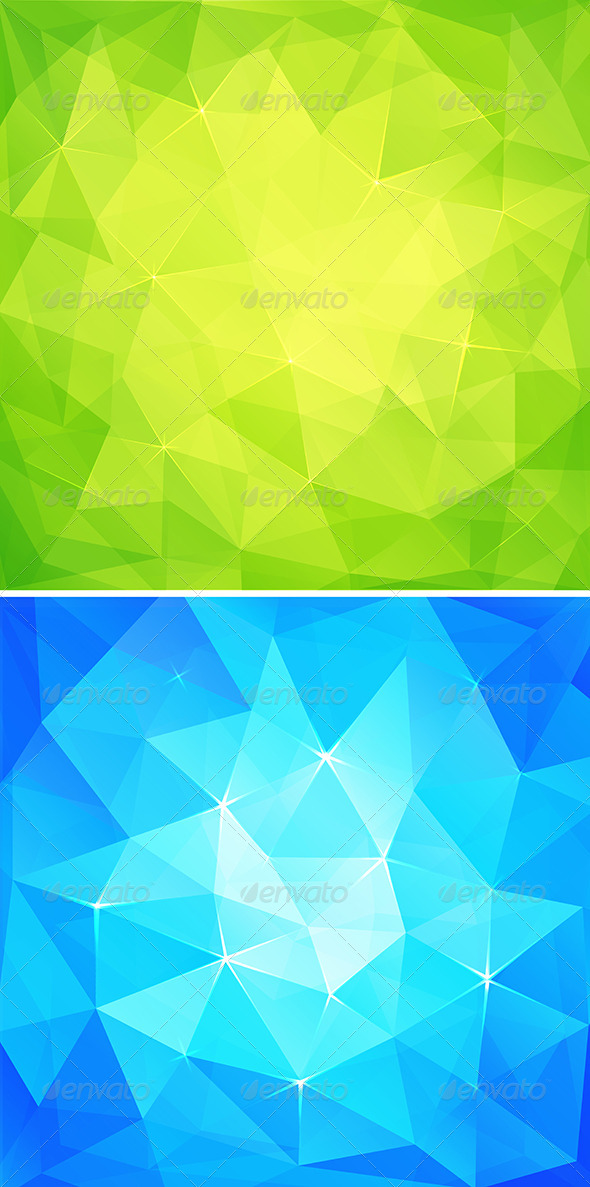 GraphicRiver Abstract Triangles Background 8085023