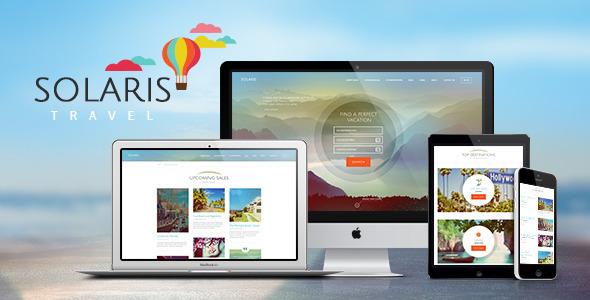 ThemeForest Solaris Travel & Hotel Booking Theme 8085055