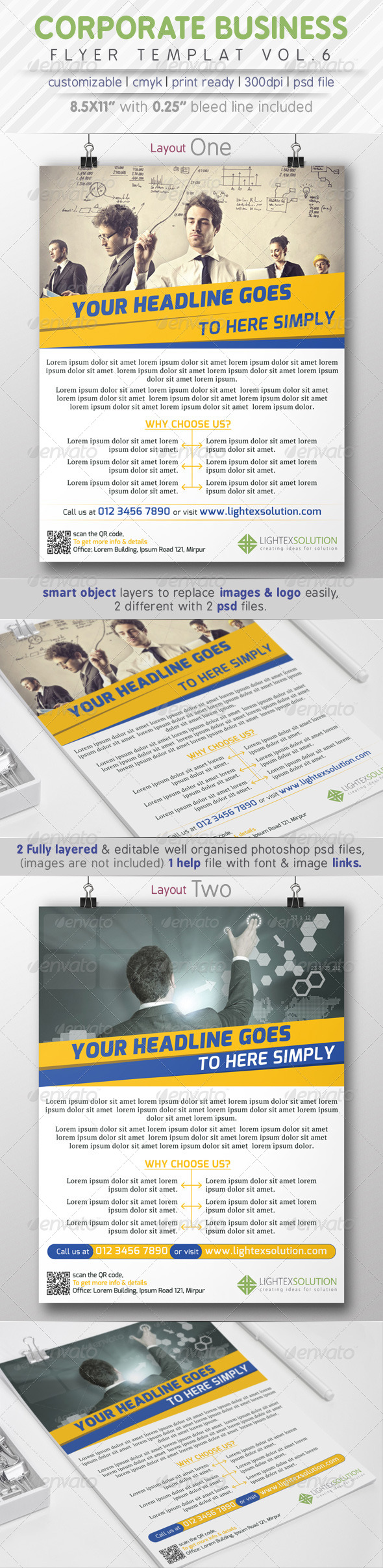GraphicRiver Corporate Business Flyer Vol.6 8085058
