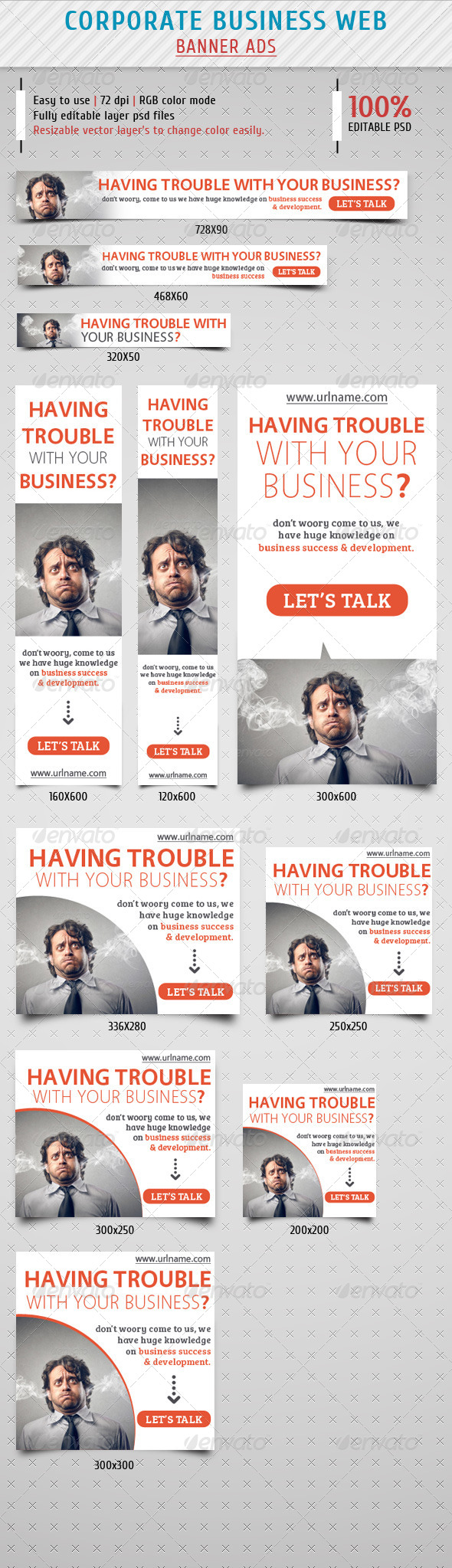 GraphicRiver Corporate Business Banner Ads Vol.2 8085072