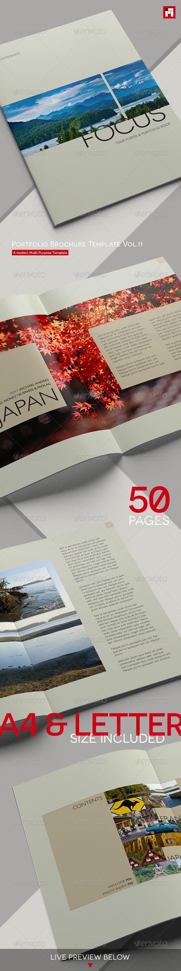 GraphicRiver Portfolio Brochure Template Vol.11 8083038