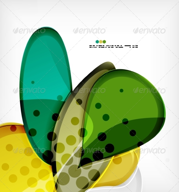 GraphicRiver Round Shapes Abstract Background 8085099