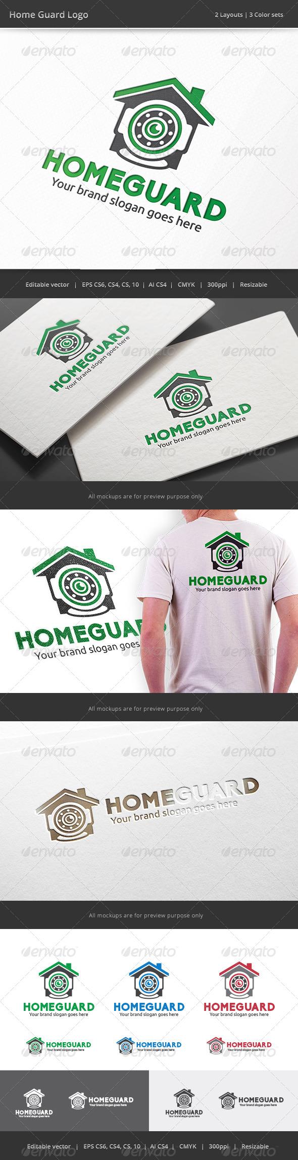 GraphicRiver Home Guard Camera Logo 8085430