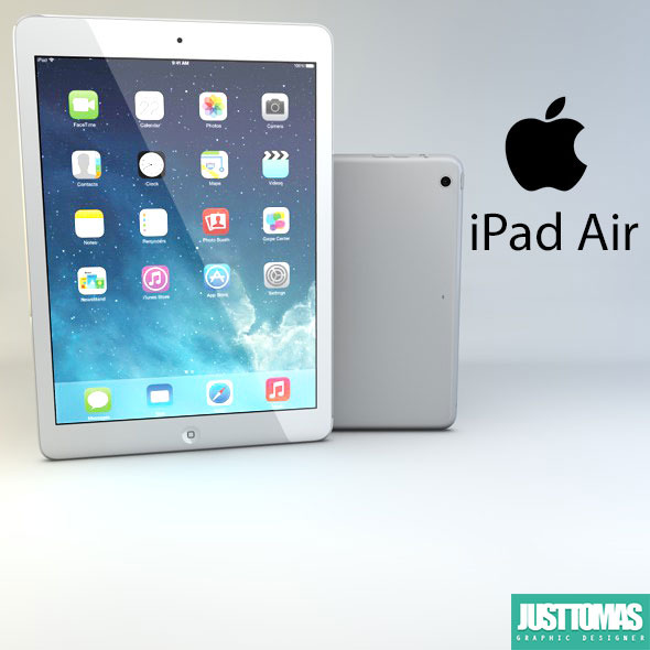 Apple iPad Air - 3DOcean Item for Sale