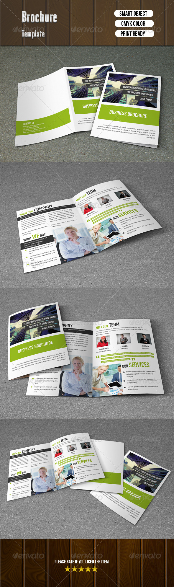 GraphicRiver Corporate Bi-Fold Brochure 8085591