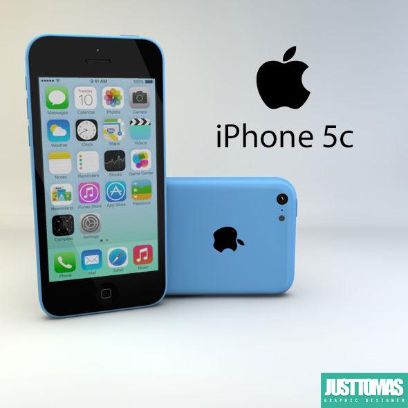 3DOcean Apple iPhone 5c 8085636