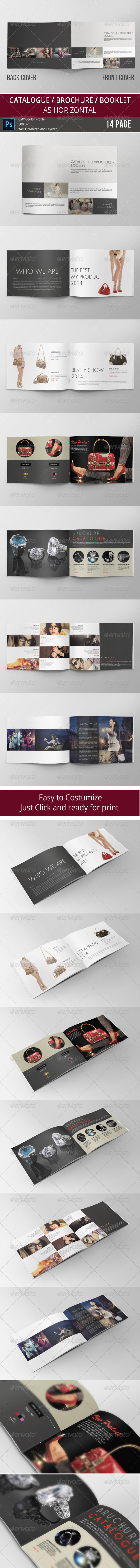 GraphicRiver Brochure Catalogue Booklet 8086012