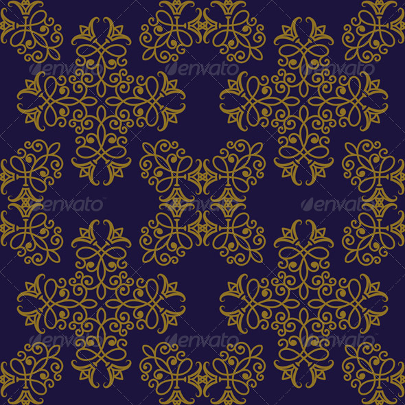 GraphicRiver Vector Seamless Pattern in Eastern Style 8086507