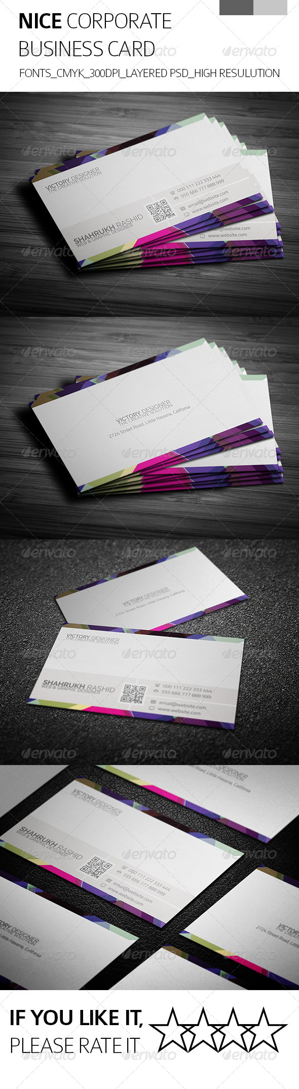 GraphicRiver Nice & Corporate Business Card 8083958