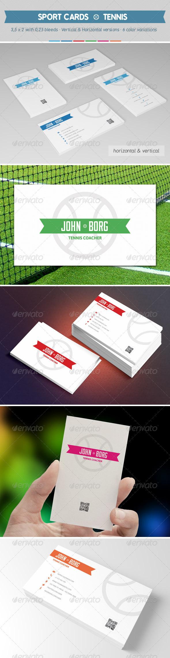 Sport Business Card Graphics, Designs & Templates