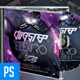 Endless Tour - Dubstep DubMixr CD Artwork - GraphicRiver Item for Sale
