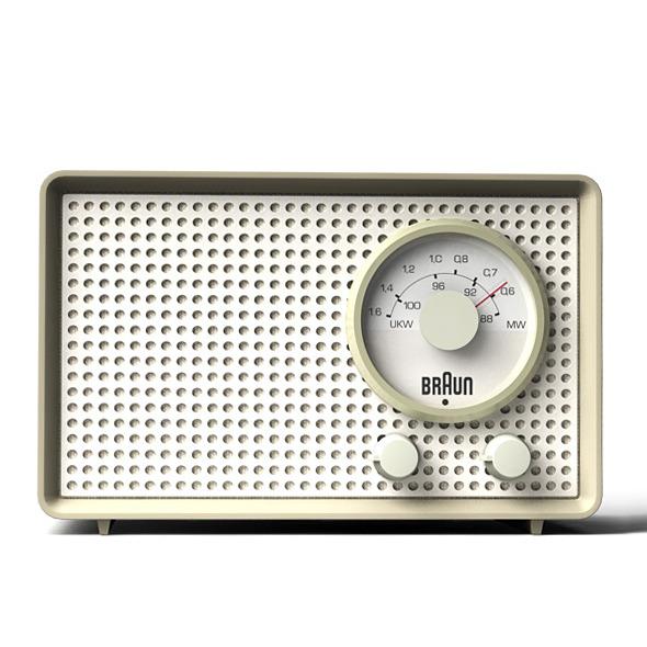 3DOcean Braun SK2 transistor radio 8086714
