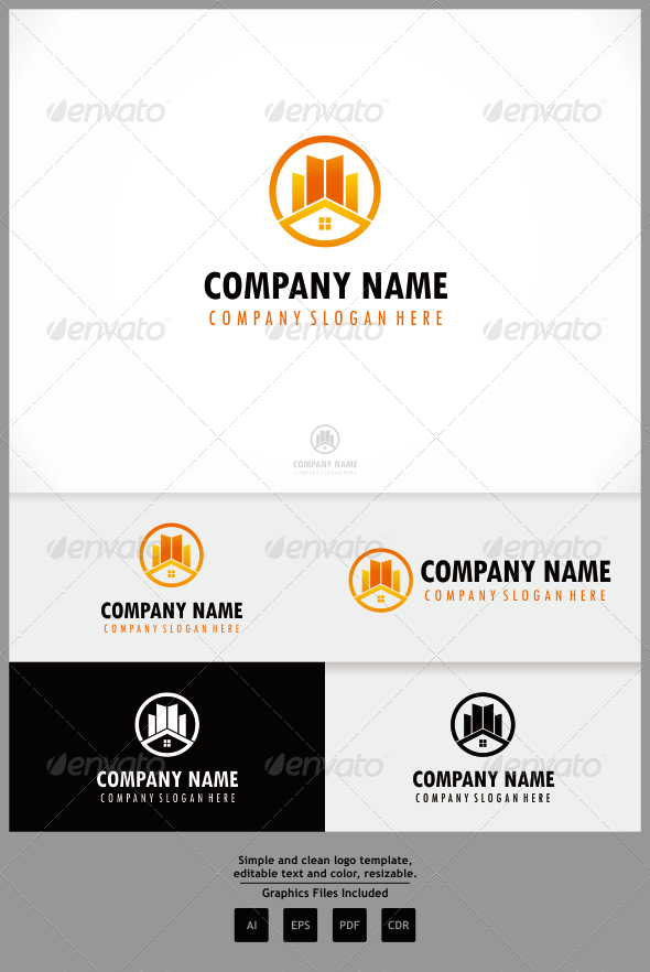 GraphicRiver Real Estate Builders 8087453