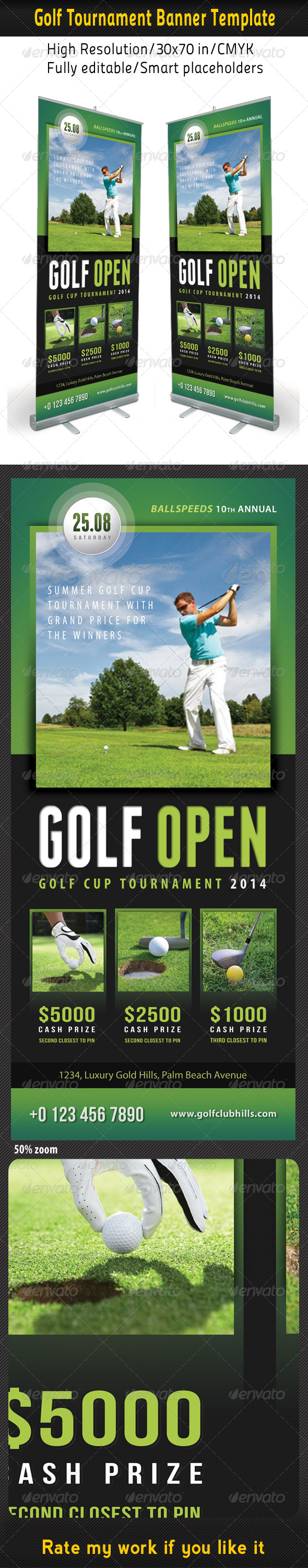 GraphicRiver Golf Event Banner Template 02 8085381