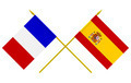 Flags of France and Spain, 3d Render, Iisolated - PhotoDune Item for Sale