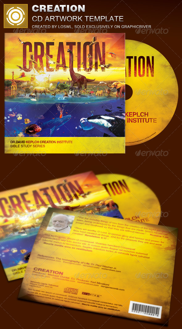 GraphicRiver Creation CD Artwork Template 8088162