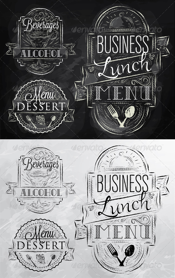 GraphicRiver Restaurant Business Elements 8084350