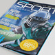 25 Pages Sport Magazine Vol63 - GraphicRiver Item for Sale