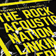 Rock Acoustic Music Flyer - GraphicRiver Item for Sale