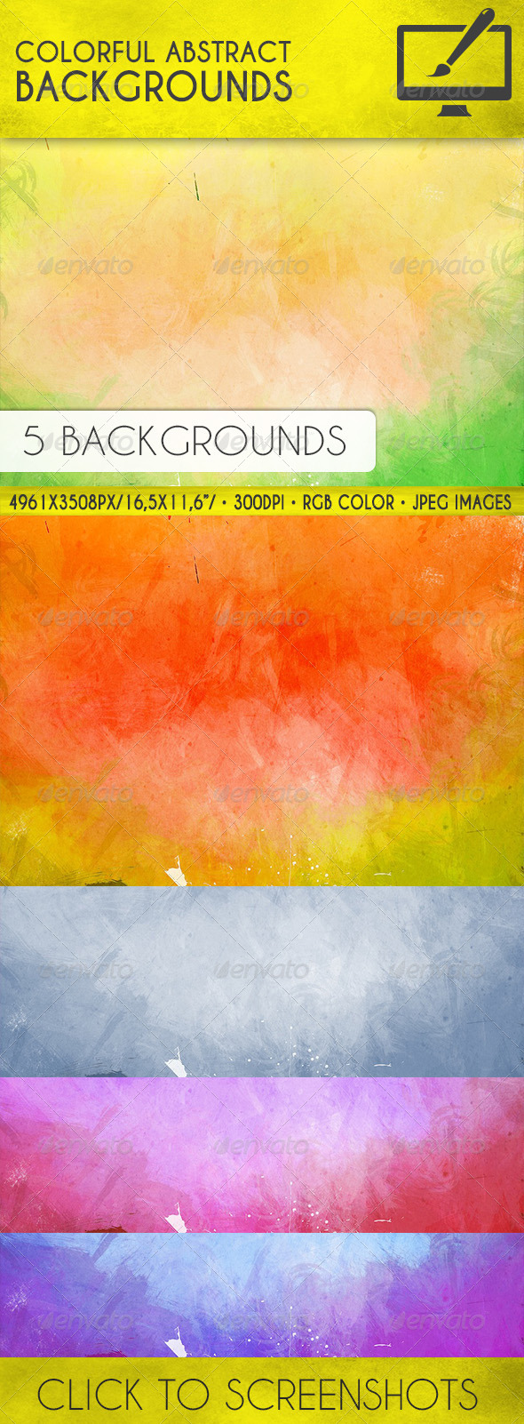 GraphicRiver Colorful Abstract Backgrounds 8089546