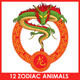 12 Chinese Zodiac Animals - GraphicRiver Item for Sale