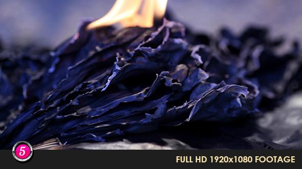 Burning Paper 26
