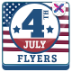 Fourth of July Flyer - GraphicRiver Item for Sale