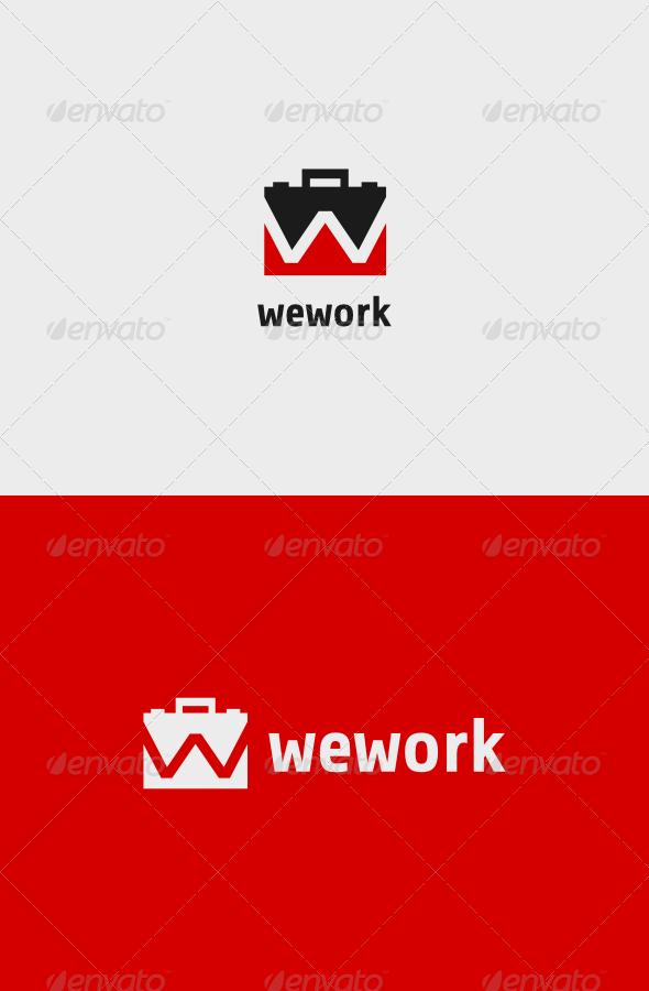 GraphicRiver We Work Logo 8090484