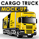 Branded Trailer (Truck) Mock-Up - GraphicRiver Item for Sale