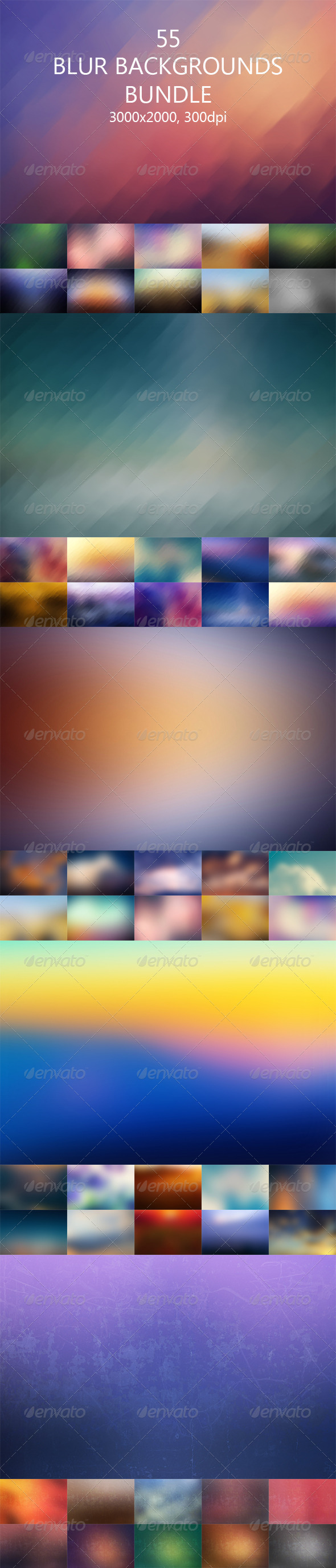 GraphicRiver Blur Backgrounds Bundle 8090672