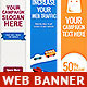 Multipurpose Web Banner Design Bundle 7 - GraphicRiver Item for Sale